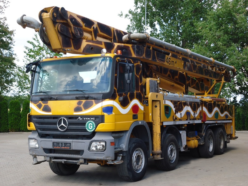 MB ACTROS 4141 8x4 POMPA SCHWING 46M
