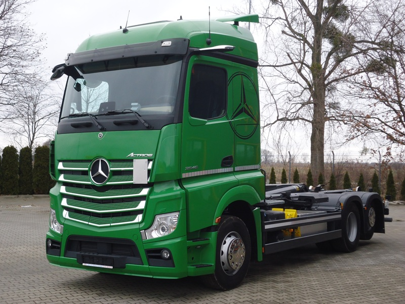 MB ACTROS 2546 6x2 EURO6|HAKOWIEC MEILLER 21T