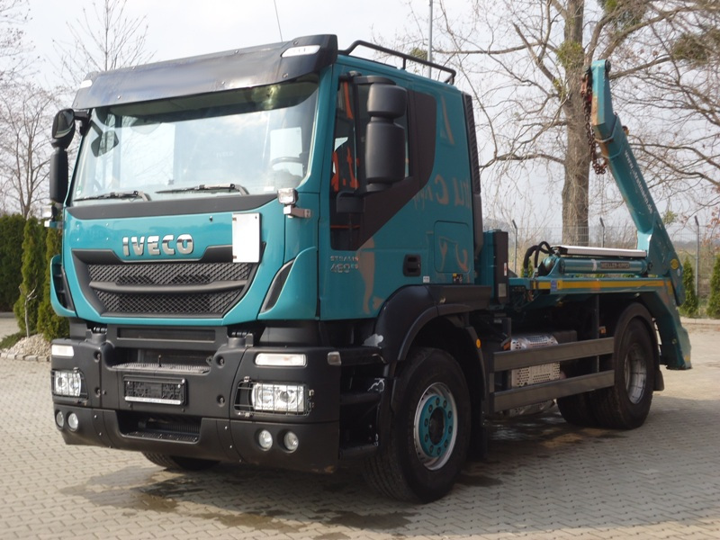 IVECO STRALIS AS 460 4x2 EURO6 BRAMOWIEC MEILLER